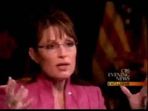 COMPLETE GIBBERISH: Katie Couric appalled by Sarah Palin's total ignorance (ANNOTATED)