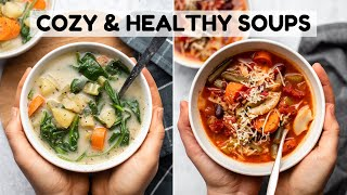 Cozy & Healthy Vegan Soup Recipes (Instant Pot)