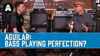 Aguilar Amplification - Meeting Dave Boonshoft + Demoing New Products!