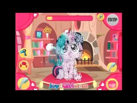 Игры пони Девушки Эквестрии - играть бесплатно на Game-Game