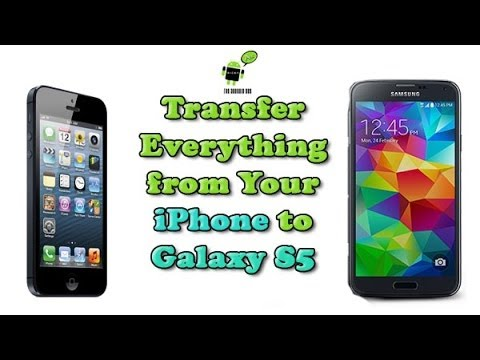 how to transfer everything from one iphone to another how to transfer everything from iphone to galaxy s5 21419