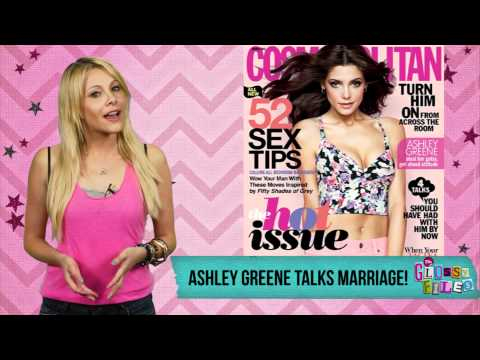 Ashley Greene Talks Marriage in Cosmo!