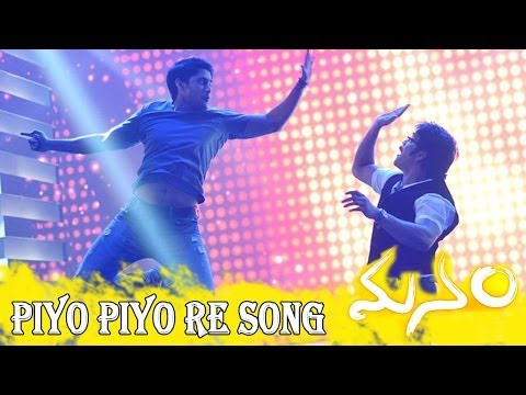 Piyo Piyo Re || Manam Official Full Song With Lyrics