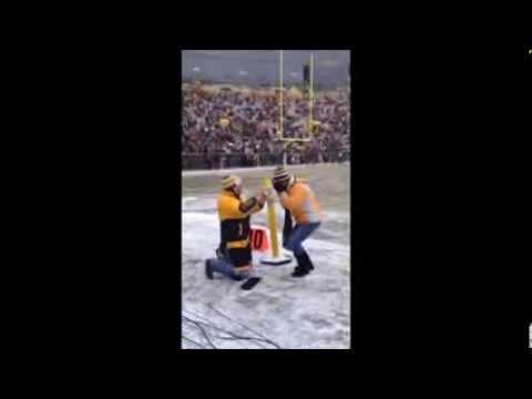 best lambeau field wedding proposal