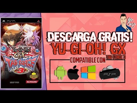 PPSSPP Yu-Gi-Oh! GX Tag Force 3 para PSP, ANDROID, IPHONE, PC| [ISO] [1 LINK/MEGA]