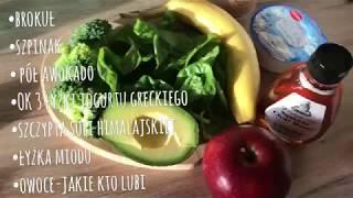 Zielone smoothie czyli zdrowie, fit śniadanie