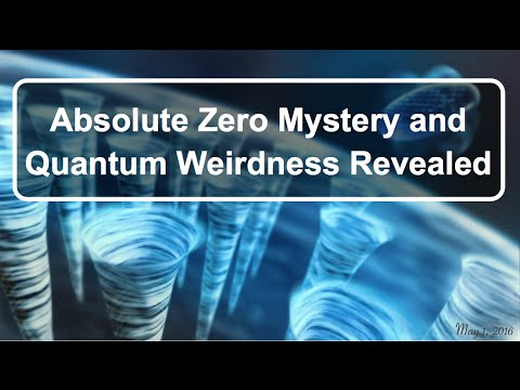 Absolute Zero Mystery and Quantum Weirdness Revealed / Classical and Quantum Mechanics Reconcile