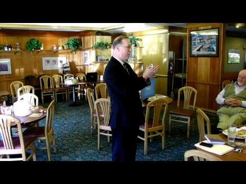 J David Currie Speaks On Wellness @ The San Bruno (GNA) Networking Meetup - 2-21-12