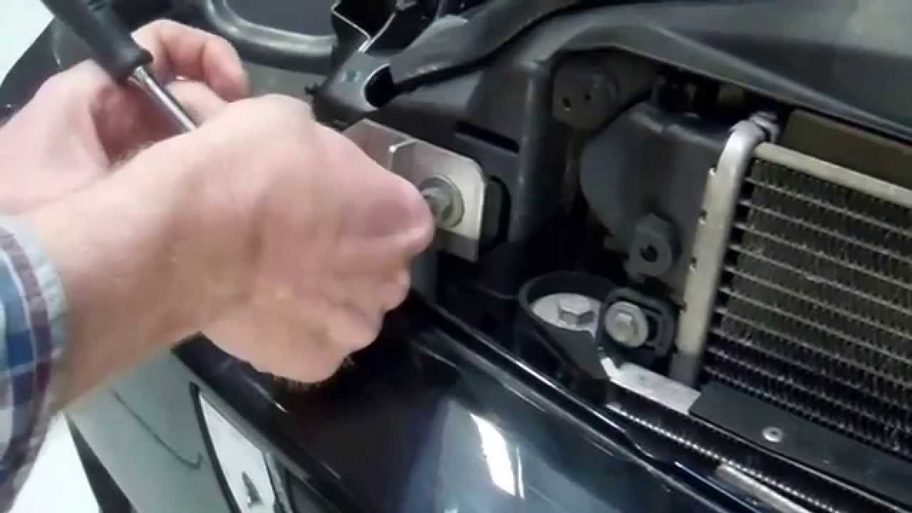 how to open the front bonnet