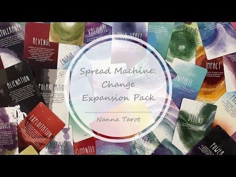 開箱  轉化補充卡 • Spread Machine: Change Expansion Pack // Nanna Tarot