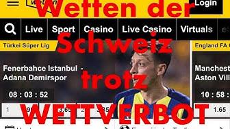 Wetten in der Schweiz ist verboten!!