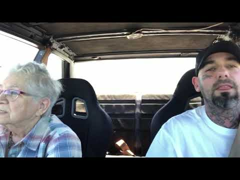 Taking Grandma For A Ride In Fast Car, Her Reaction Is Priceless