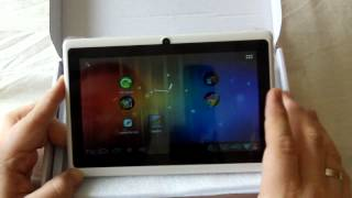 Video Allwinner 7inch A13 Android Tablet - Overclocked - review & games PART 1 download MP3, 3GP, MP4, WEBM, AVI, FLV Agustus 2018