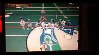 Seahawks v.s Patriots on NFL Fever 2000!!!!