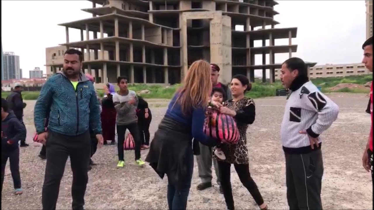 173 - Helping 17 displaced Yezidi families from Sinjar