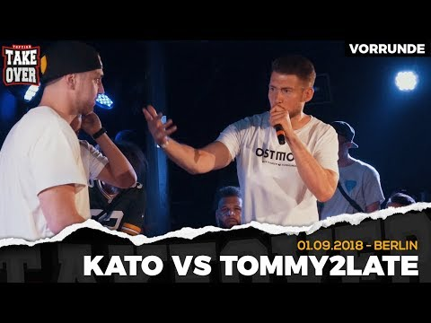Kato vs. Tommy2Late - Takeover Freestyle Contest   Berlin 01.09.18 (VR 4/4)