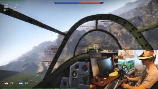 WAR THUNDER в шлеме виртуальной реальности SONY(, 2014-09-14T13:41:10.000Z)