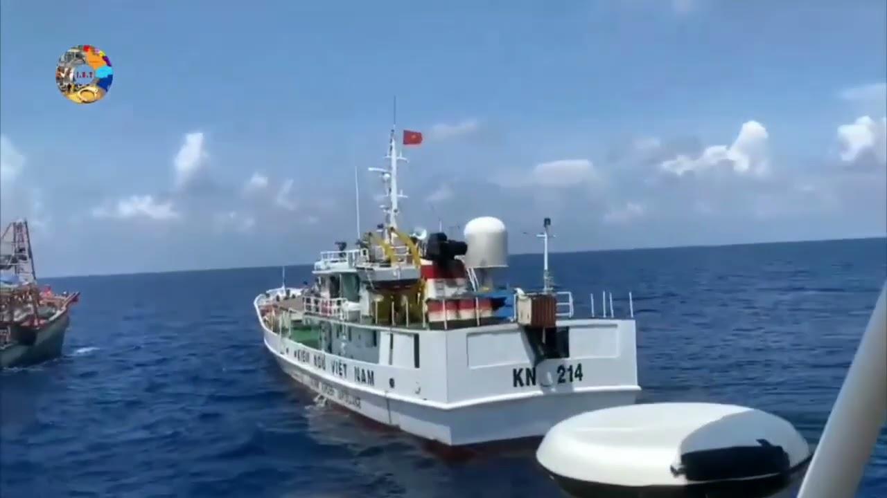 Cảnh sát biển, Kiểm ngư Việt Nam truy cản tàu chấp pháp Malaysia