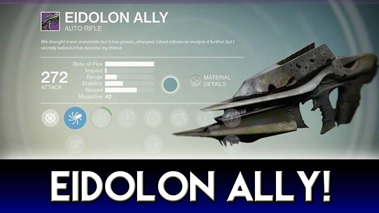 Eidolon Ally Maxed Out Eidolon Ally Gameplay Youtube