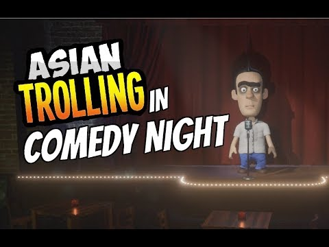 Offensive Asian Trolling in Comedy Night #1 | + FREE GAME GIVEAWAY!
