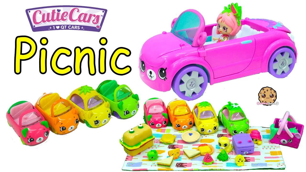 Cutie Cars Picnic With Shoppies Doll Shopkins Happy Places