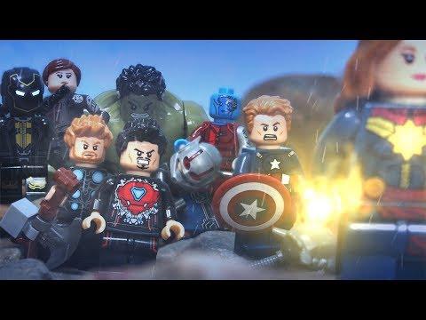 Lego Avengers Infinity War Full Ending
