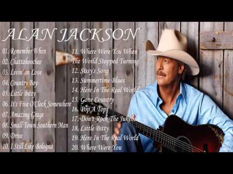 Alan Jackson Greatest Hits - Alan Jackson Collestion (MP3/HD)