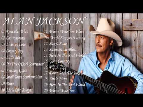 Alan Jackson Greatest Hits - Alan Jackson Collestion (MP3/HD)
