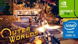 The Outer Worlds (GT 740M/GT 825M/GT 920M) [Low*]