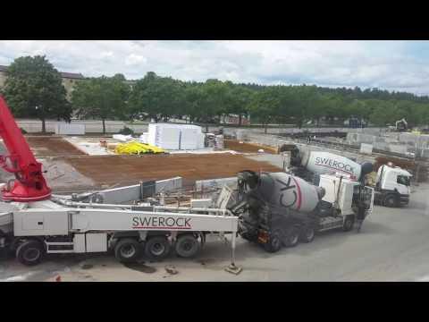 Construction  building  in   Sweden