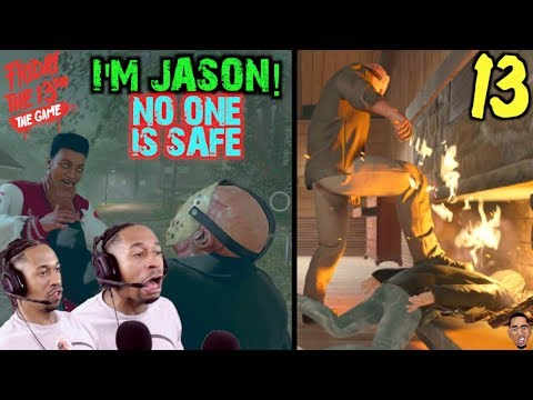 RAGE MODE w/ JASON! Friday the 13th Gameplay #13