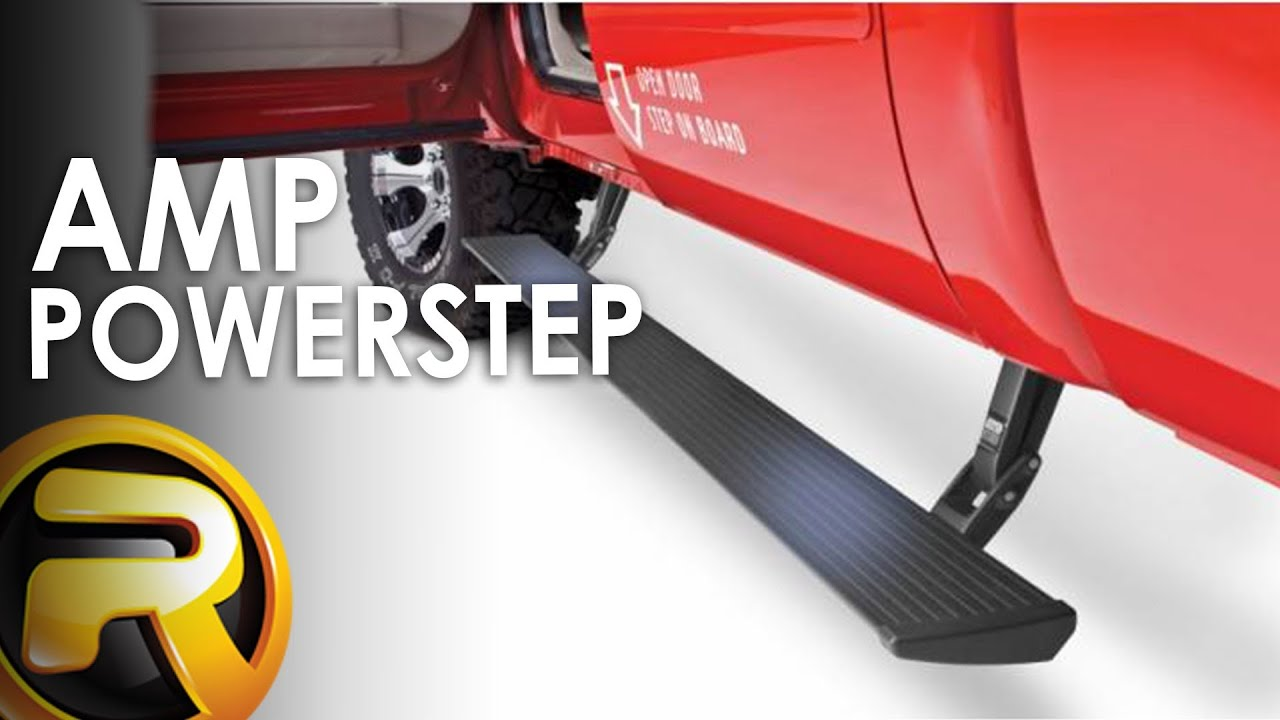 Pickup Truck Running Boards >> AMP Research PowerStep Running Boards - YouTube