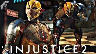 Injustice 2 Online - REVERSE FLASH COMBOS!
