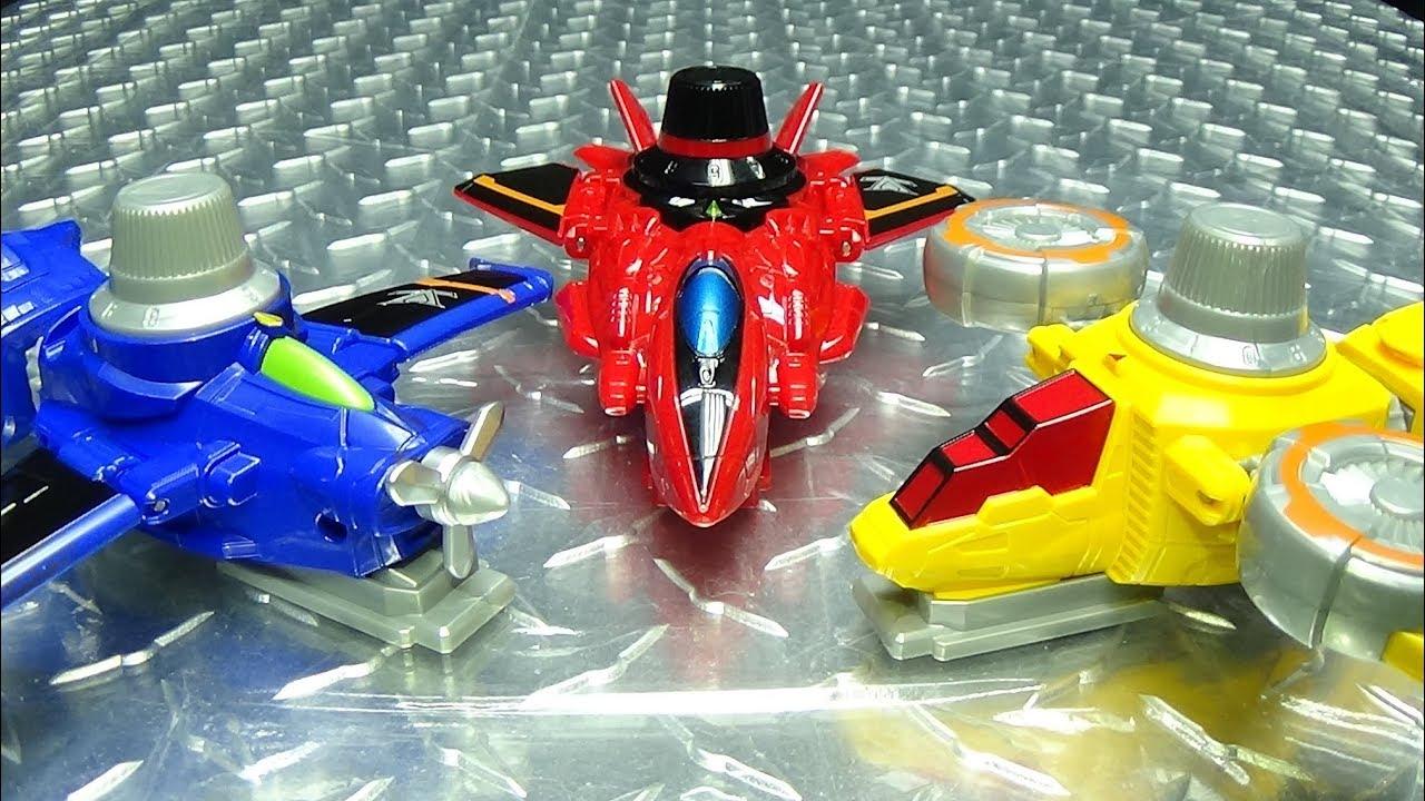 Lupinranger vs Patranger DX RED, BLUE & YELLOW DIAL FIGHTER