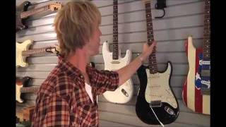 Kenny Wayne Shepherd gear tour: guitars