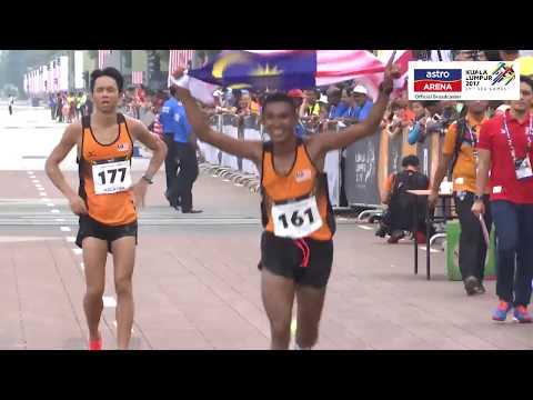 MUHAIZAR MOHAMAD | Pingat Gangsa | Maraton | KL 2017 | Astro Arena