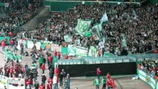 ANDREE WIEDENER Werder Bremen - 1FCA - Ostkurve: Tanz den Andree Wiedener - nach links nach rechts