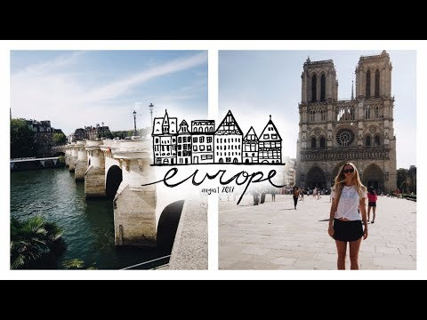 THE NOTRE DAME CATHEDRAL + MORE OF PARIS!!