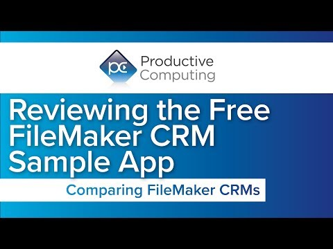 FileMaker CRM Sample App Compared with Core4 and Core5