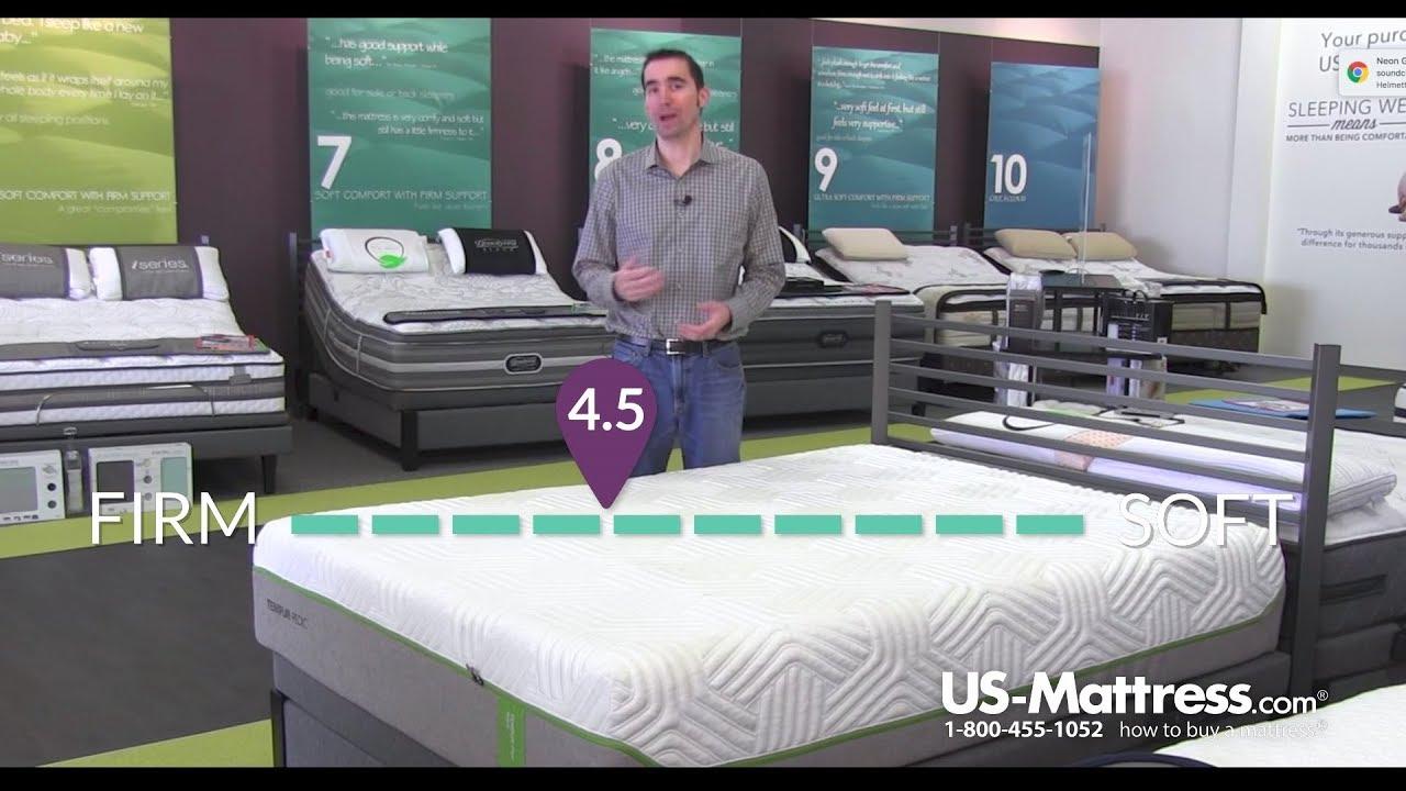 tempur flex elite mattress expert review youtube