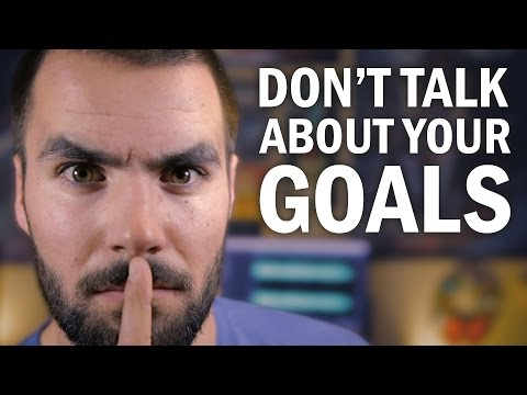 Why You Shouldn't Tell People About Your Goals - College Info Geek