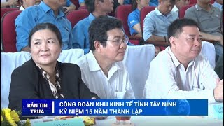 BẢN TIN TRƯA | Tin tức hôm nay 23-10-2019 | TayNinhTV