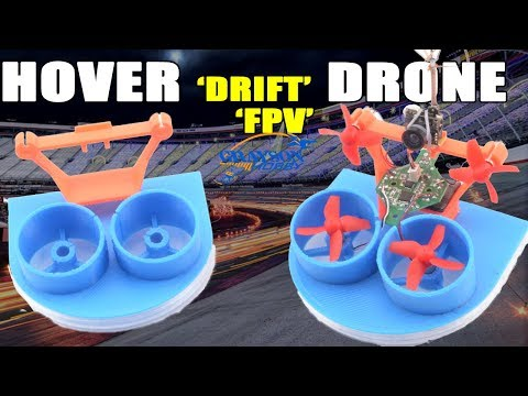 Radio Control Hover Drone | FPV Drone Drifting | FPV Drift Car
