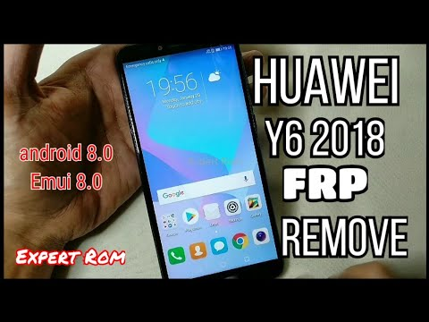 HUAWEI Y6 2018 (ATU-L22) Unlock FRP Bypass Google Account Without PC/ EMUI 8.0/ANDROID 8.0