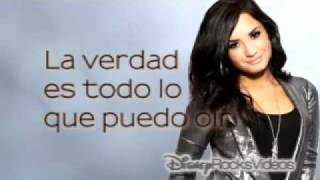 Demi Lovato - Every Time You Lie (letra español)