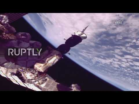 Space: Soyuz MS-06 spacecraft successfully delivers Expedition 53-54 to ISS