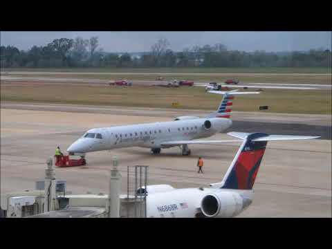 Aircraft Spot & Tour: AEX - Part 1; AEagle, Delta Connect, & more