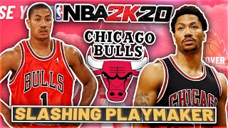 PRIME DERRICK ROSE BUILD IN NBA 2K20! | Crazy Slashing Playmaker Build!