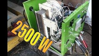 пуско зарядное устройство 2500 W своими руками