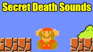 All 8 SECRET/HIDDEN Falling Death Sounds In Super Mario Maker (Easter Eggs)